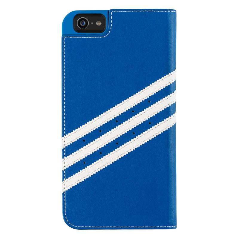 Adidas Booklet Case iPhone 6 Plus Blue/White - 2
