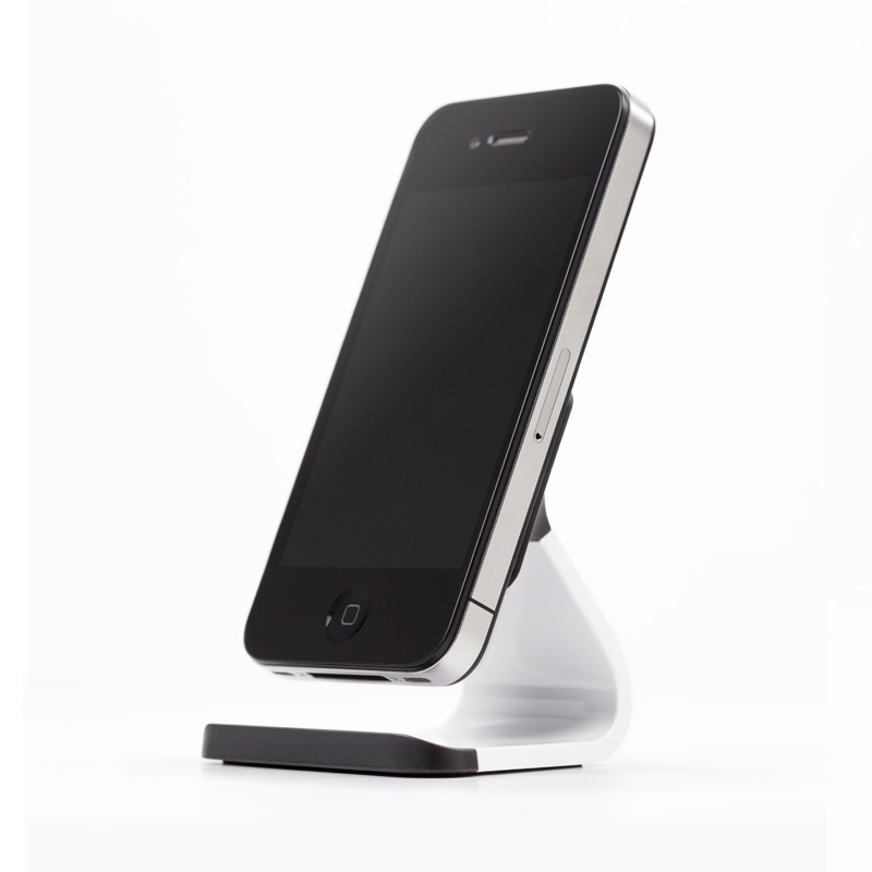 Bluelounge Milo iPhone Stand White - 2
