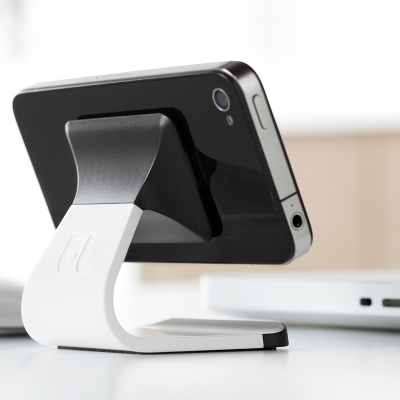 Bluelounge Milo iPhone Stand White - 5