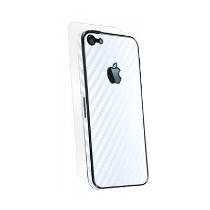 BodyGuardz Carbon Armor iPhone 5 White - 1