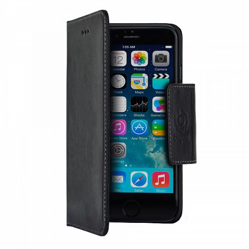 Bugatti BookCover Amsterdam iPhone 6 Plus Black - 4