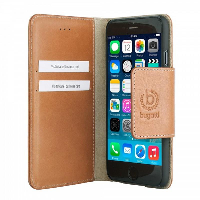 Bugatti BookCover Amsterdam iPhone 6 Cognac - 3