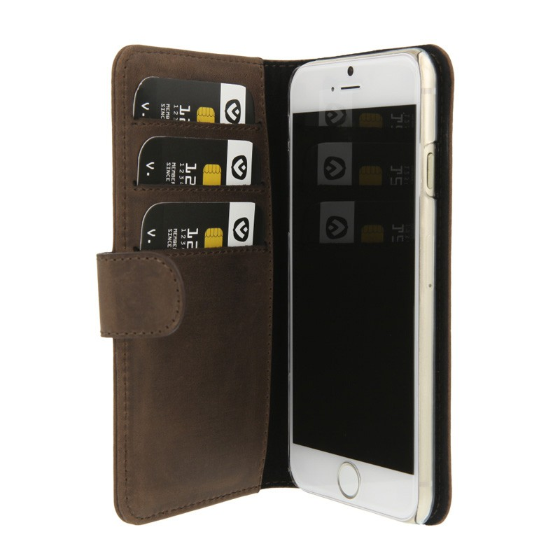 Valenta Booklet Case iPhone 6 Vintage Brown - 3