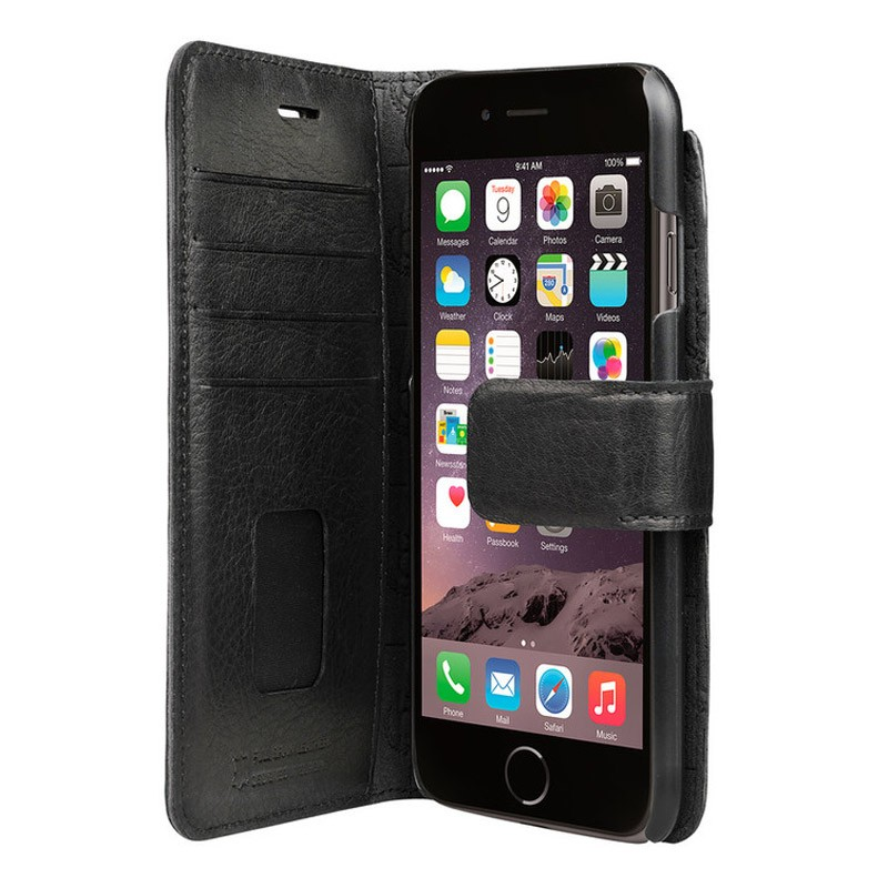 Bugatti Zurigo Book Case iPhone 7 Black - 1