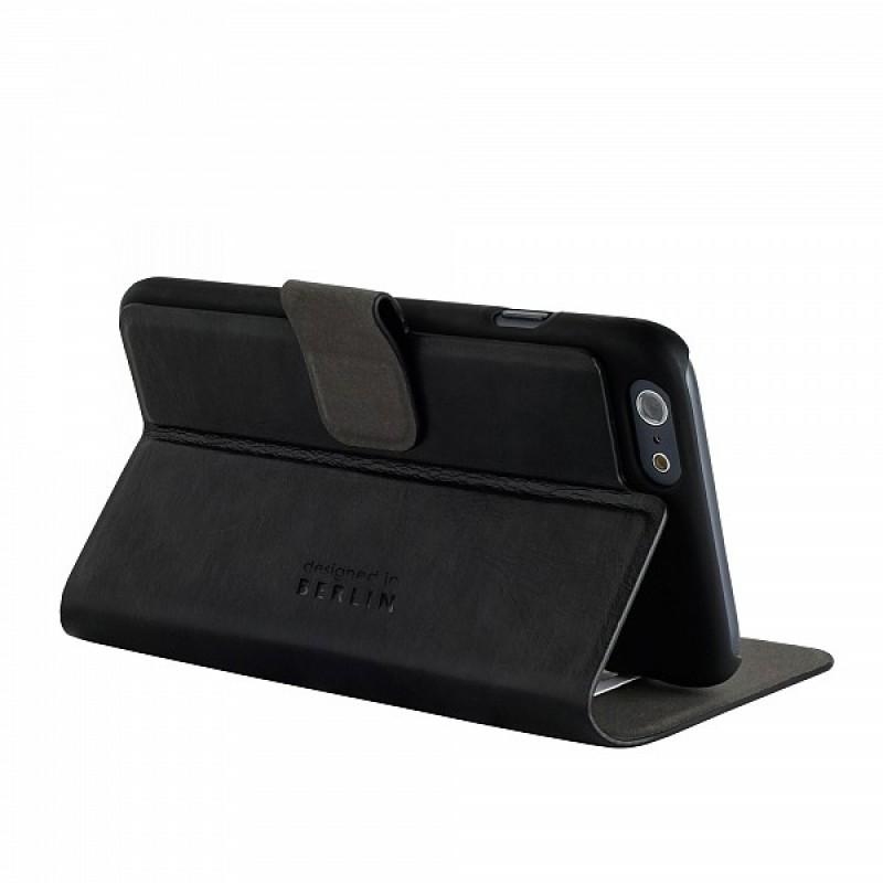 Bugatti BookCase Geneva iPhone 6 Plus Black - 6