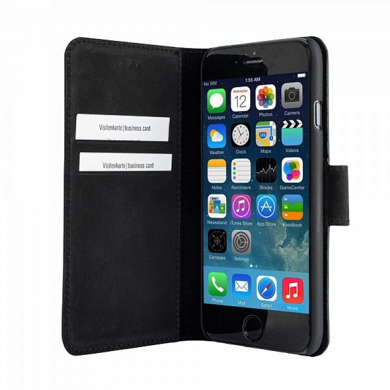 Bugatti BookCase Madrid iPhone 6 Black - 5