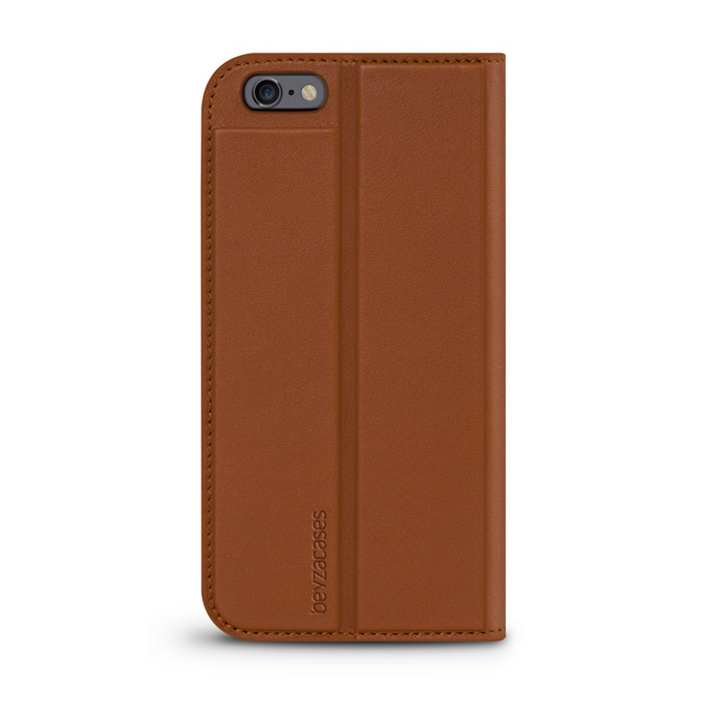 Beyzacases Arya Folio iPhone 6 / 6S Tan Brown - 1