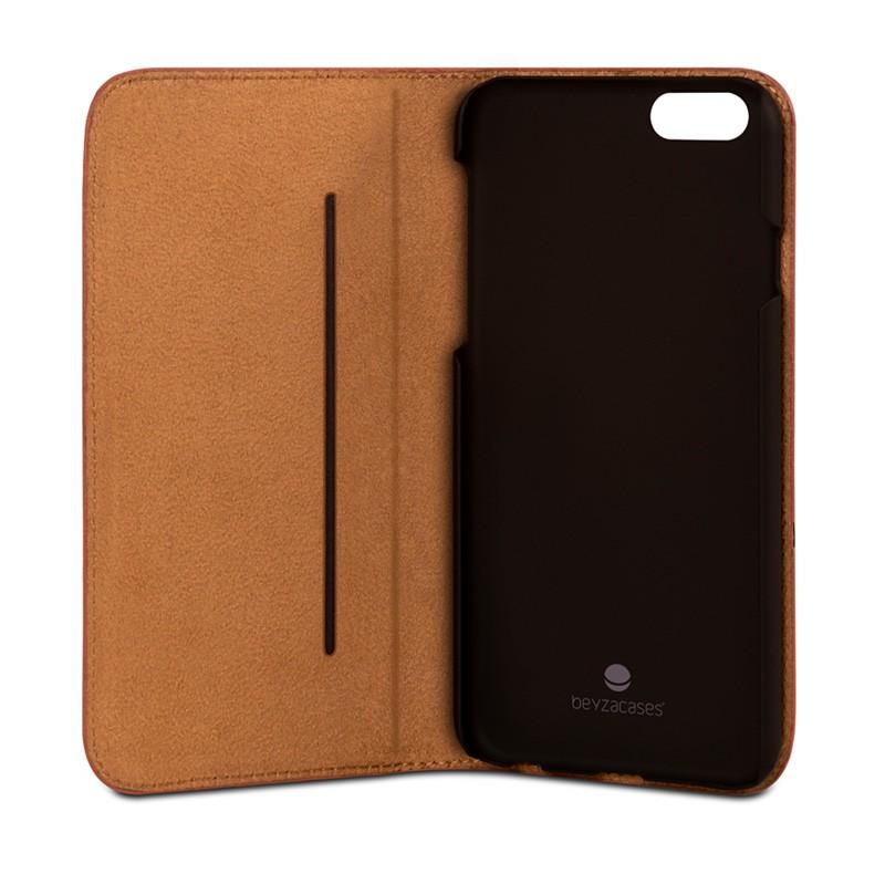 Beyzacases Arya Folio iPhone 6 / 6S Tan Brown - 4