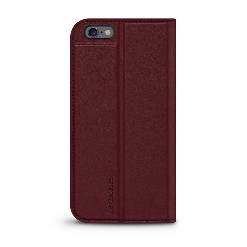 Beyzacases Arya Folio iPhone 6 / 6S Bordeux Red - 1