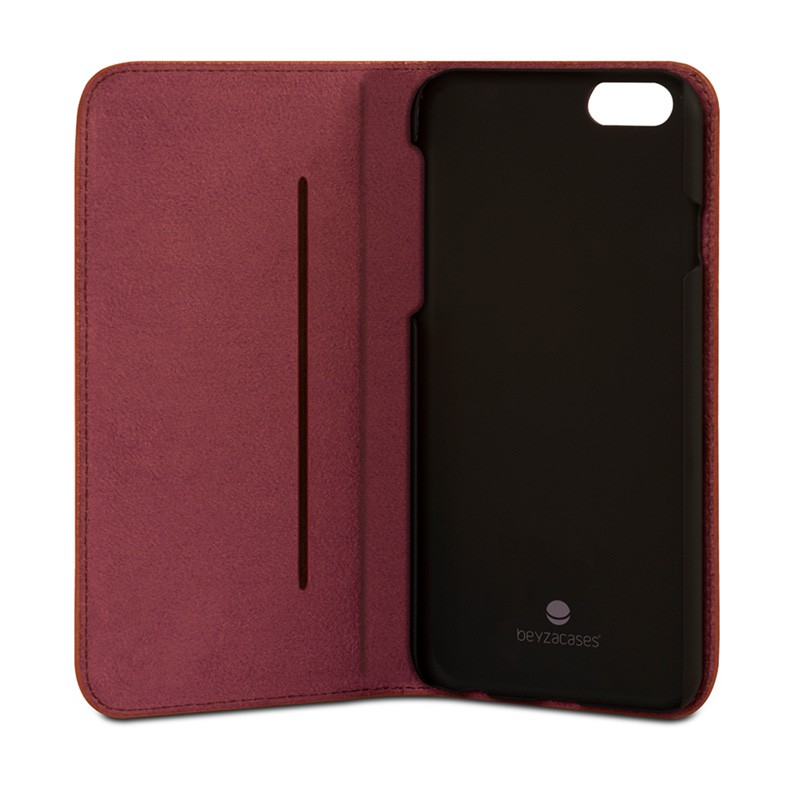 Beyzacases Arya Folio iPhone 6 / 6S Bordeux Red - 4