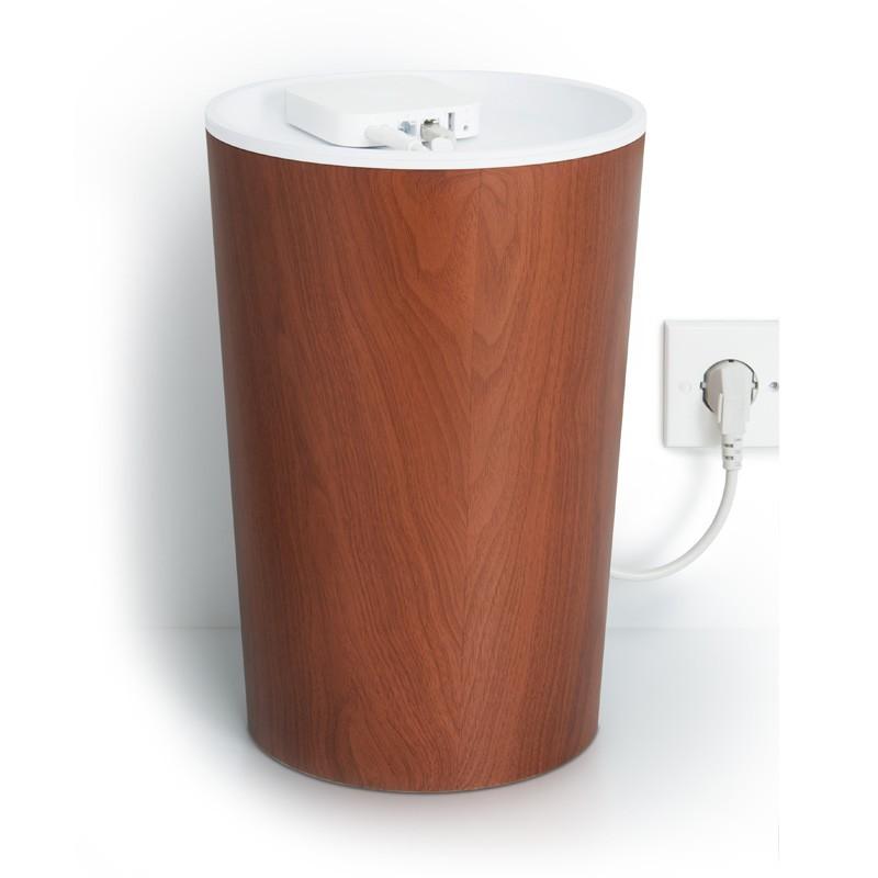 Bluelounge Cablebin Dark Wood - 2