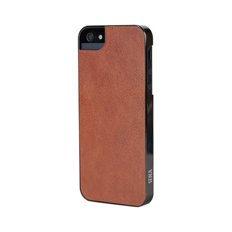 Sena Ultra Thin Snap On iPhone 5/5S Caramel/gunmetal