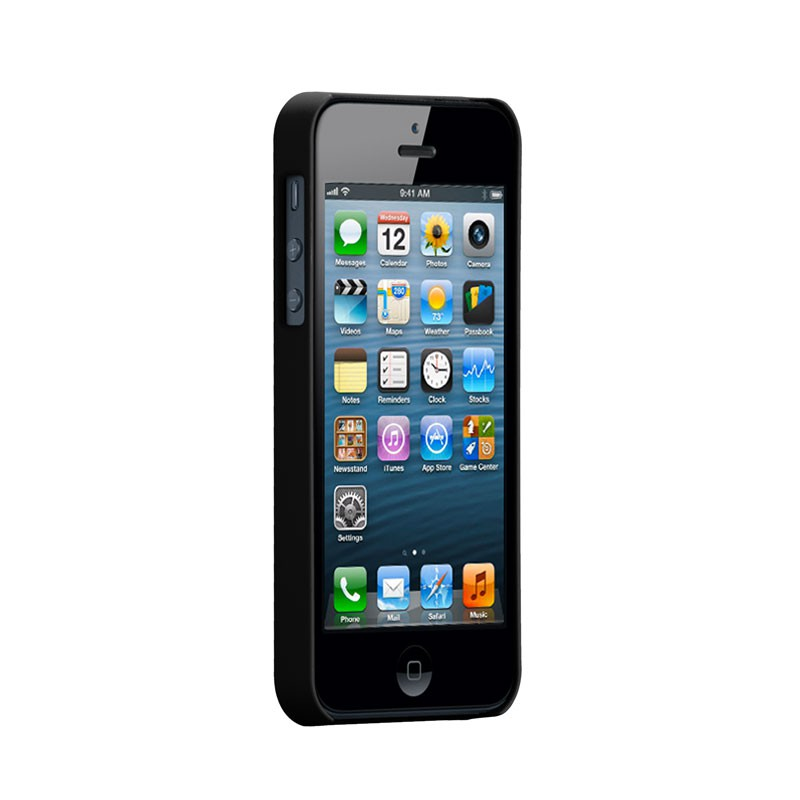Case-mate - Barely There Case iPhone 5 (Black) 02