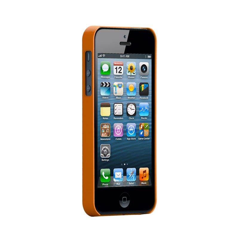 Case-mate - Barely There Case iPhone 5 (Orange) 02