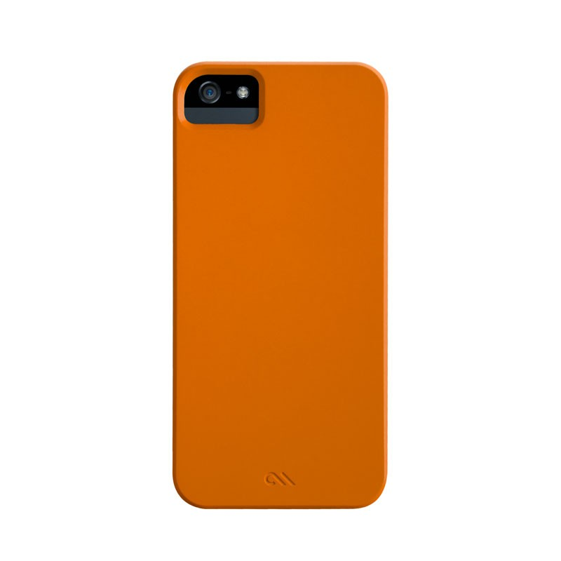 Case-mate - Barely There Case iPhone 5 (Orange) 04