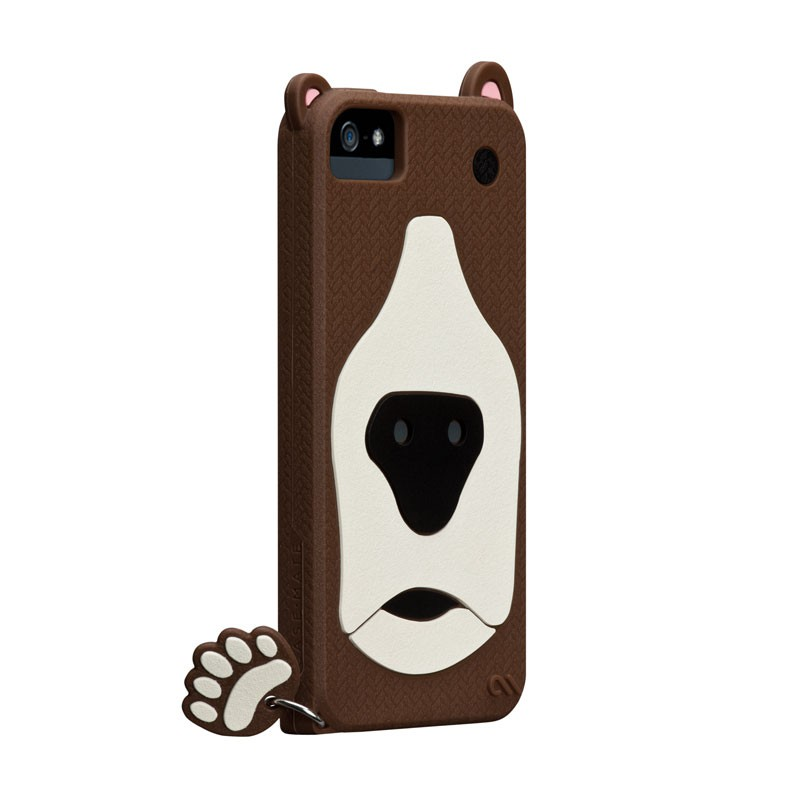 Case-mate - Creatures Case iPhone 5 (Grizzly) 01