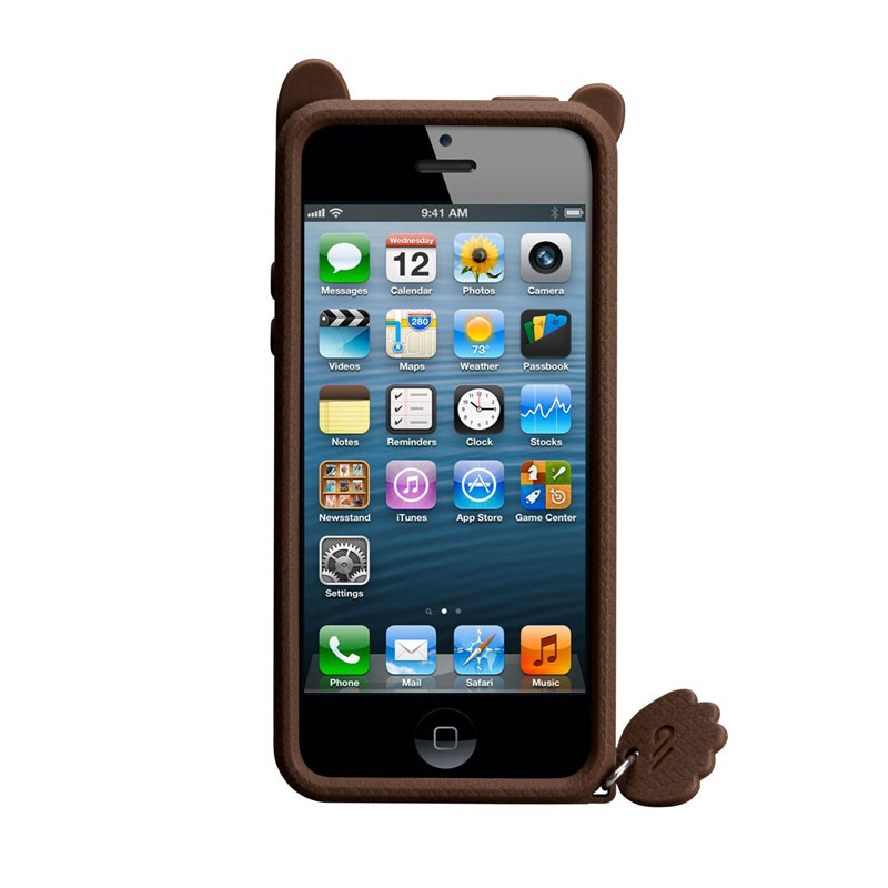 Case-mate - Creatures Case iPhone 5 (Grizzly) 04