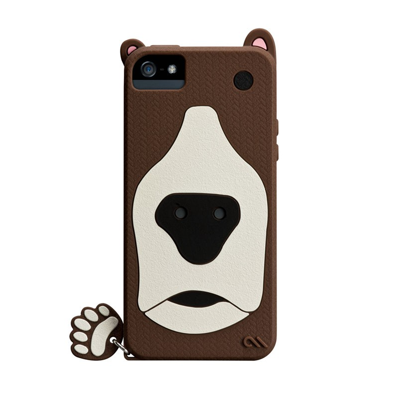 Case-mate - Creatures Case iPhone 5 (Grizzly) 05