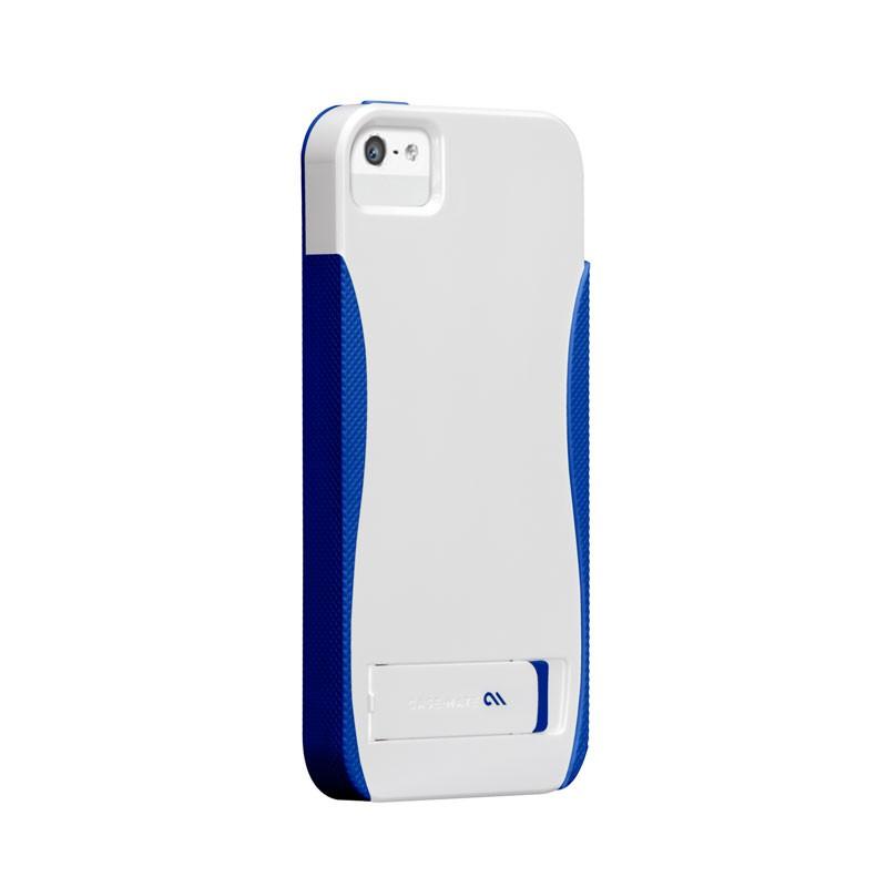 Case-mate - Pop! Case iPhone 5 (White-Blue) 01