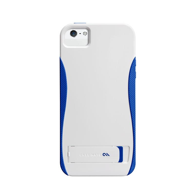 Case-mate - Pop! Case iPhone 5 (White-Blue) 02