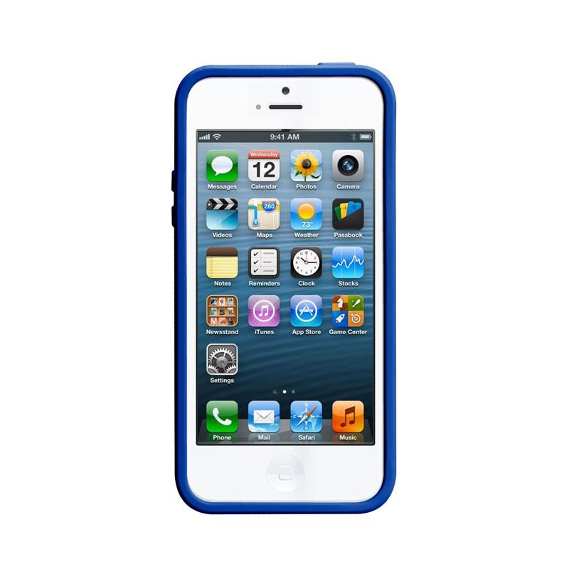 Case-mate - Pop! Case iPhone 5 (White-Blue) 04