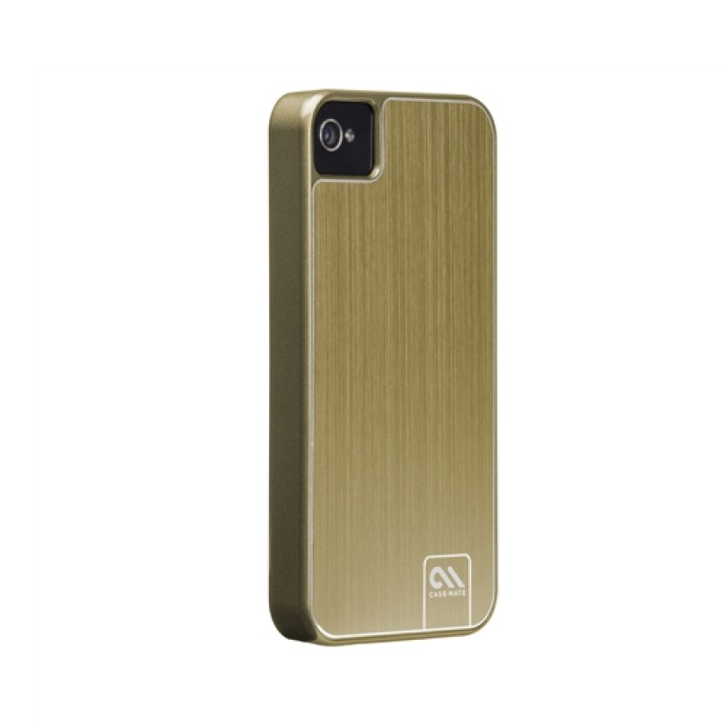 Case-Mate Barely There Brushed Aluminium iPhone 4(S) Gold - 2