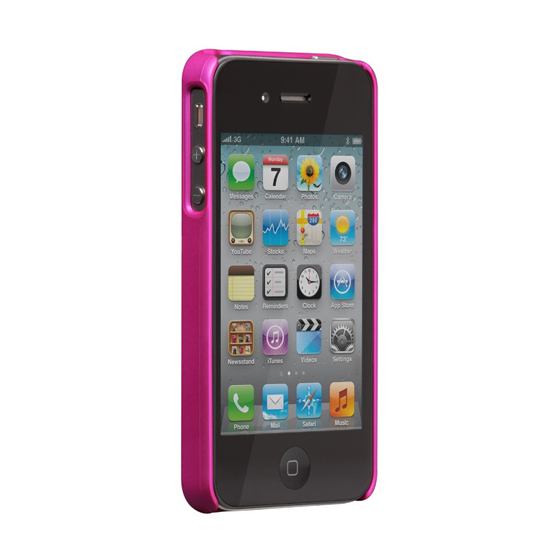 Case-Mate Barely There iPhone 4(S) Pink - 3