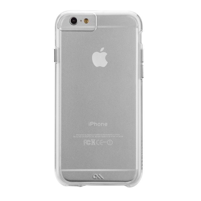 Case-Mate Naked Tough iPhone 6 Clear - 1