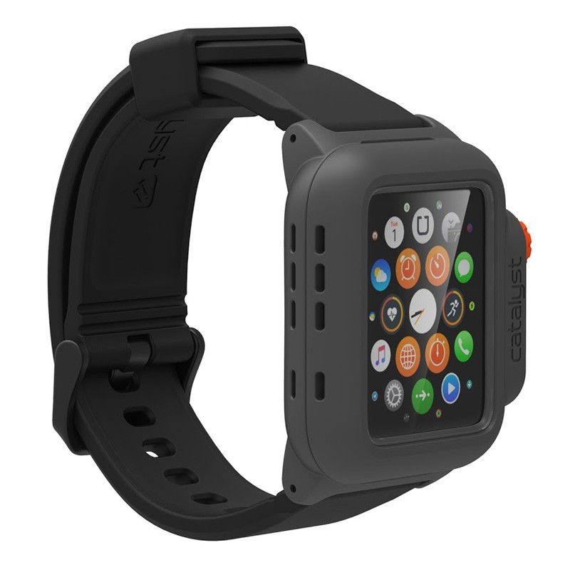 Catalyst Waterproof Case Apple Watch 42mm Black/Orange - 2