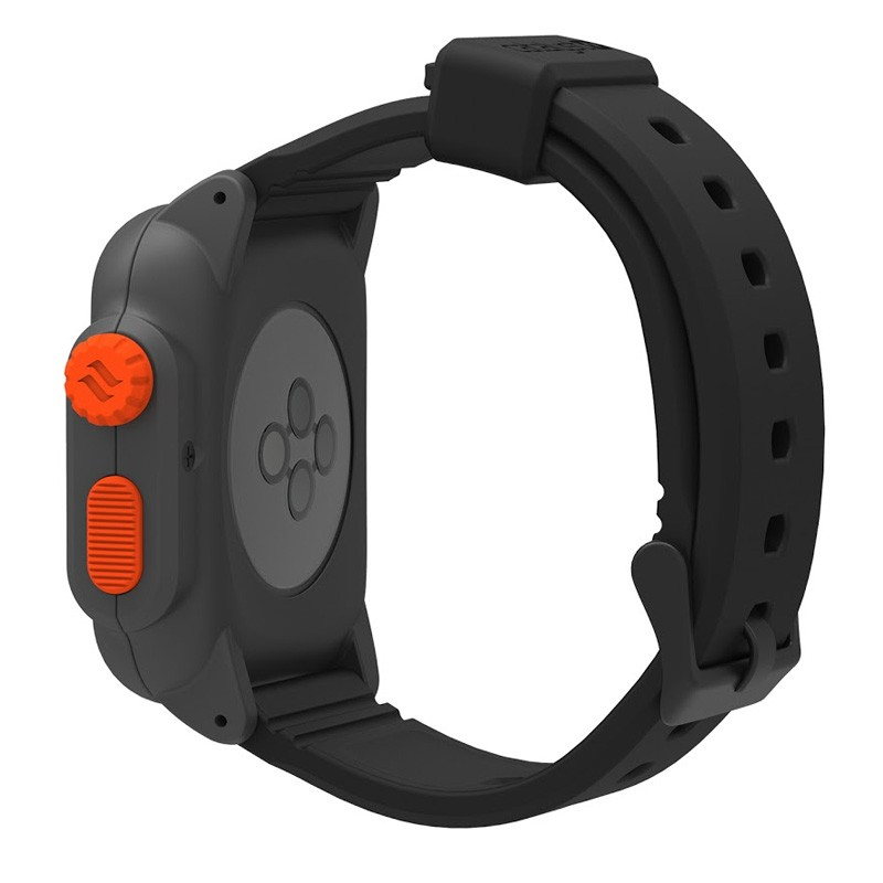 Catalyst Waterproof Case Apple Watch 42mm Black/Orange - 3