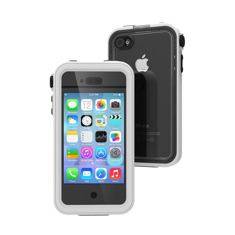 Catalyst Waterproof iPhone 4/4S Case White - 2