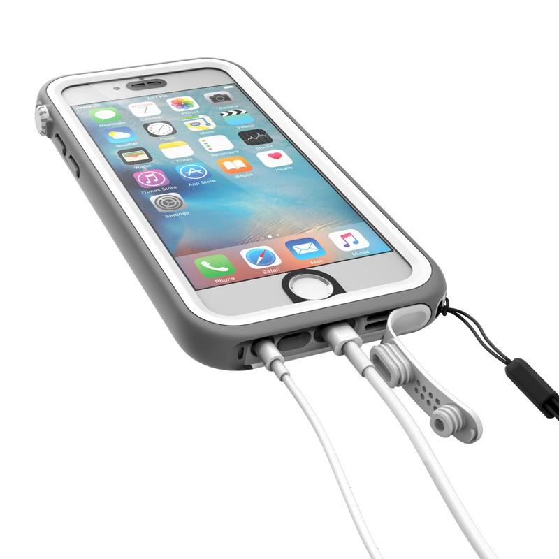 Catalyst Waterproof Case iPhone 6 / 6S White/Grey - 4