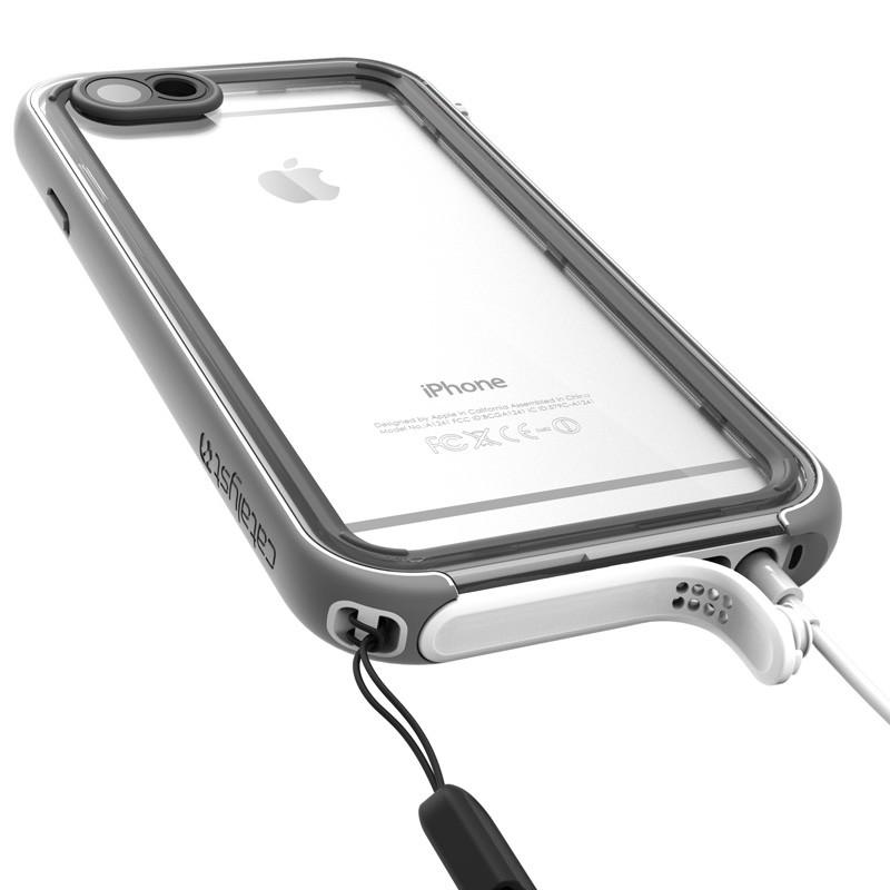 Catalyst Waterproof Case iPhone 6 / 6S White/Grey - 5