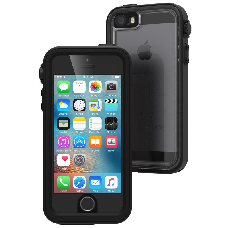Catalyst Waterproof Case iPhone SE / 5S / 5 Black - 1