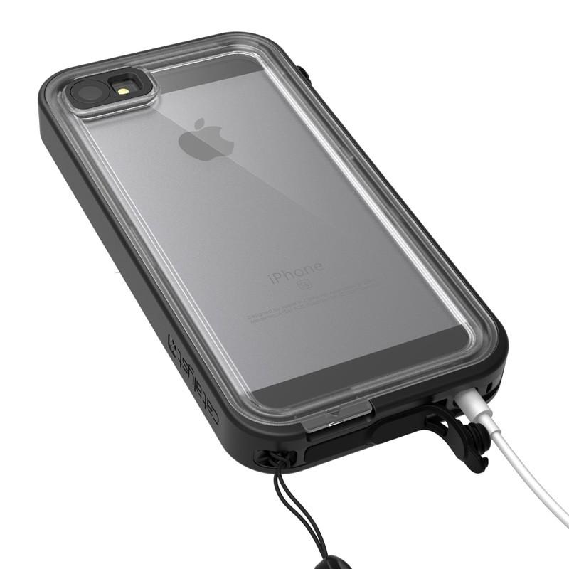 Catalyst Waterproof Case iPhone SE / 5S / 5 Black - 5
