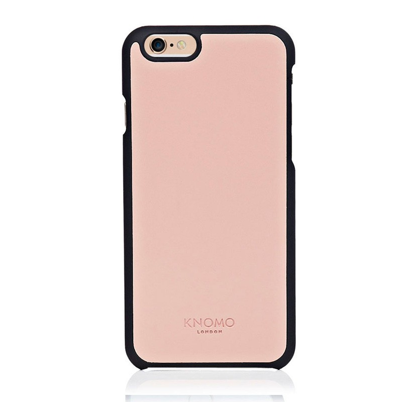 Knomo Leather Snap On iPhone 6 Clay - 1
