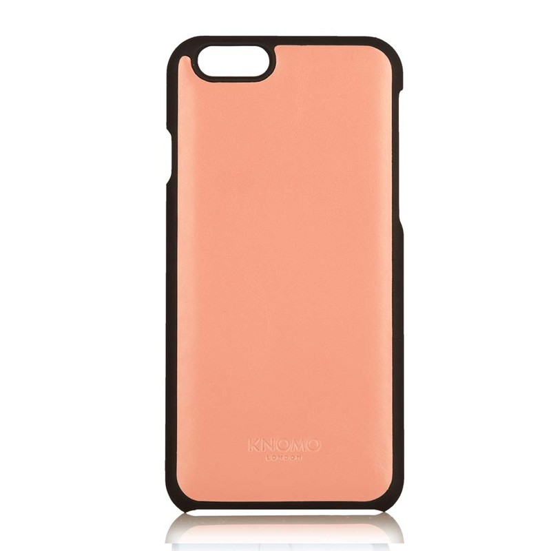 Knomo Leather Snap On iPhone 6 Clay - 2