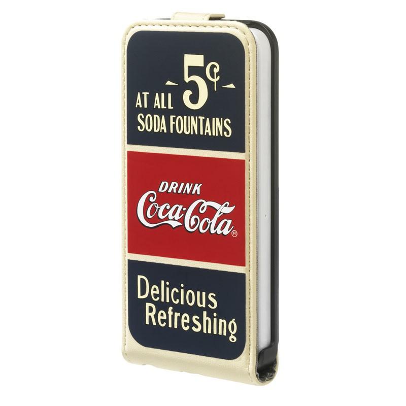 Coca-Cola Flip Case iPhone 5C Old Cents - 1