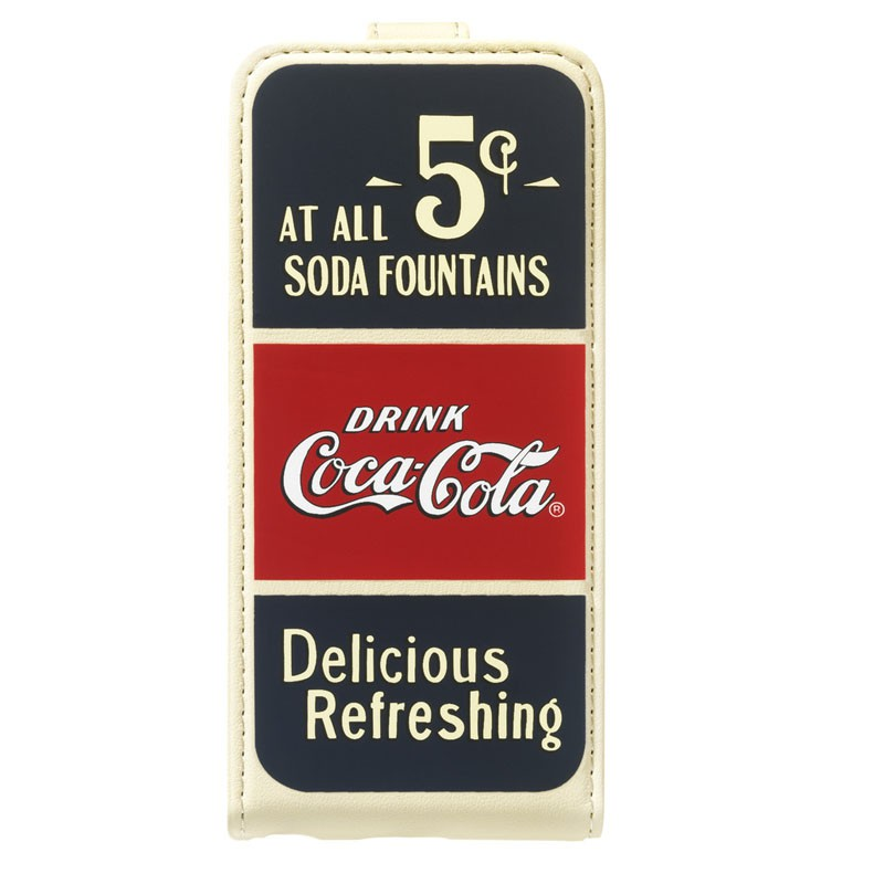 Coca-Cola Flip Case iPhone 5C Old Cents - 2