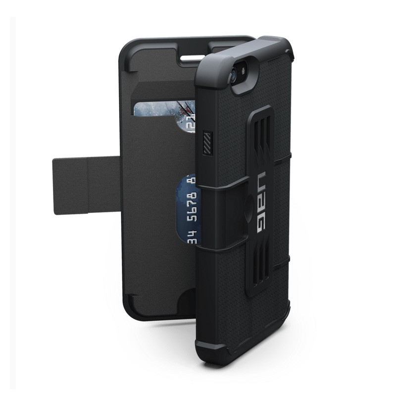 UAG Composite Folio iPhone 6/6S Scout Black  - 1