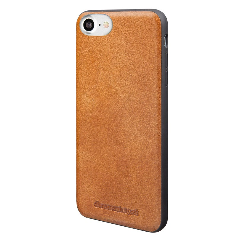 DBramante1928 - Billund Leather Back Case iPhone 7 Tan 02