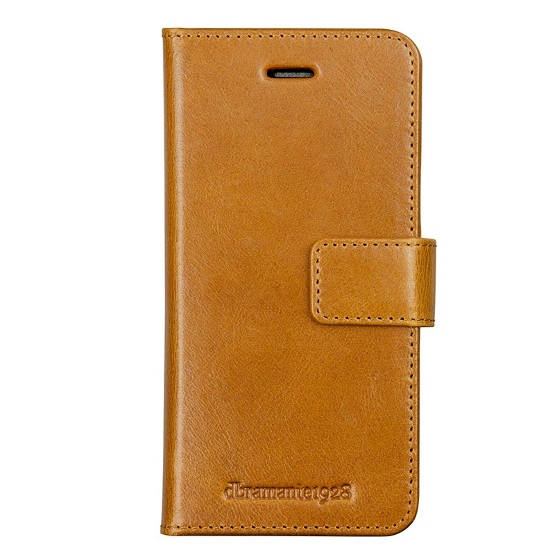 DBramante1928 - Copenhagen 2 Leather Folio iPhone 7 Plus Tan 01