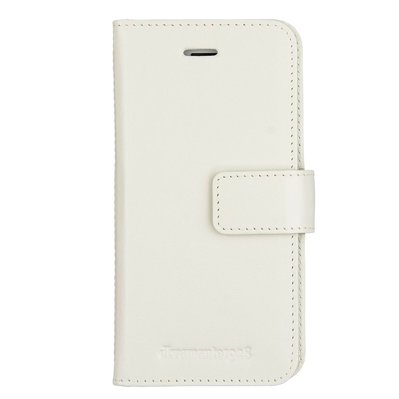 DBramante1928 - Copenhagen 2 Leather Folio iPhone 7 White 01