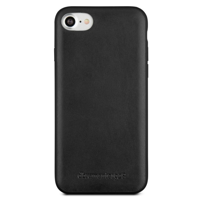 DBramante1928 - Billund Leather Back Case iPhone 7 Black 01