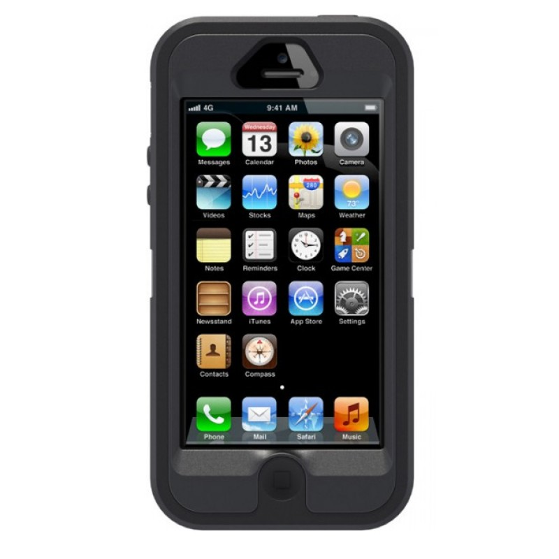 OtterBox Defender iPhone 5/5S Black - 1