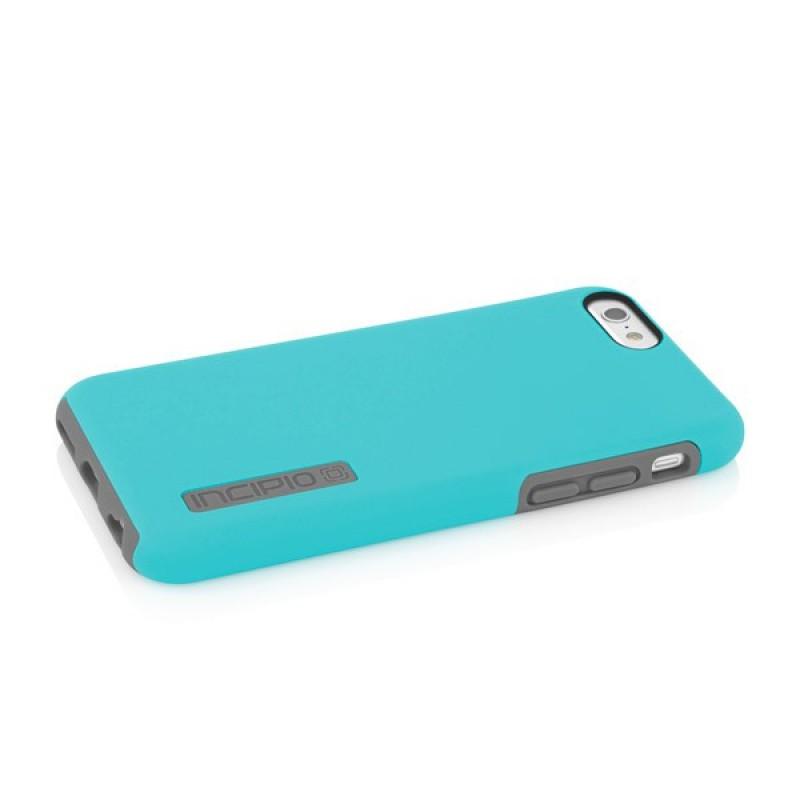 Incipio DualPro Case iPhone 6 Plus Cyan/Grey - 4