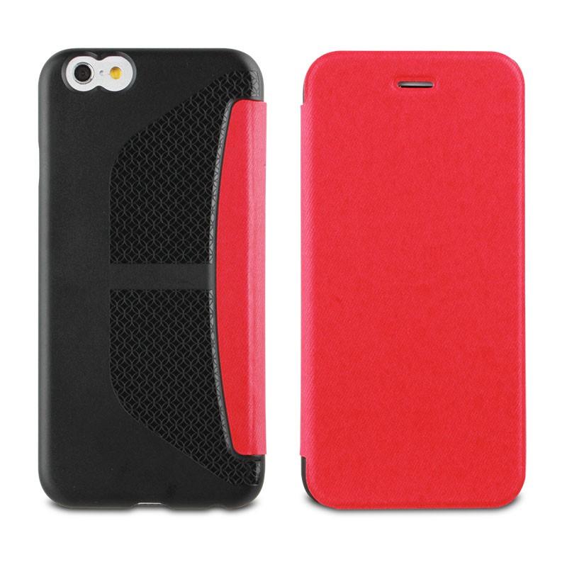Muvit Easy Folio iPhone 6 Plus Denim Pink - 2