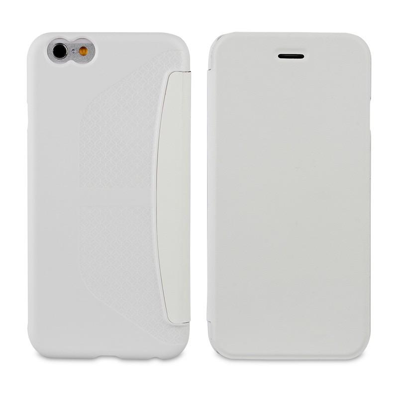 Muvit Easy Folio iPhone 6 White - 1