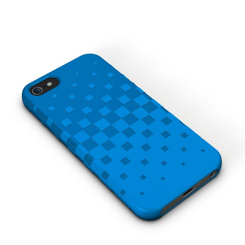 XtremeMac - Tuffwrap iPhone 5 (Blue) 01