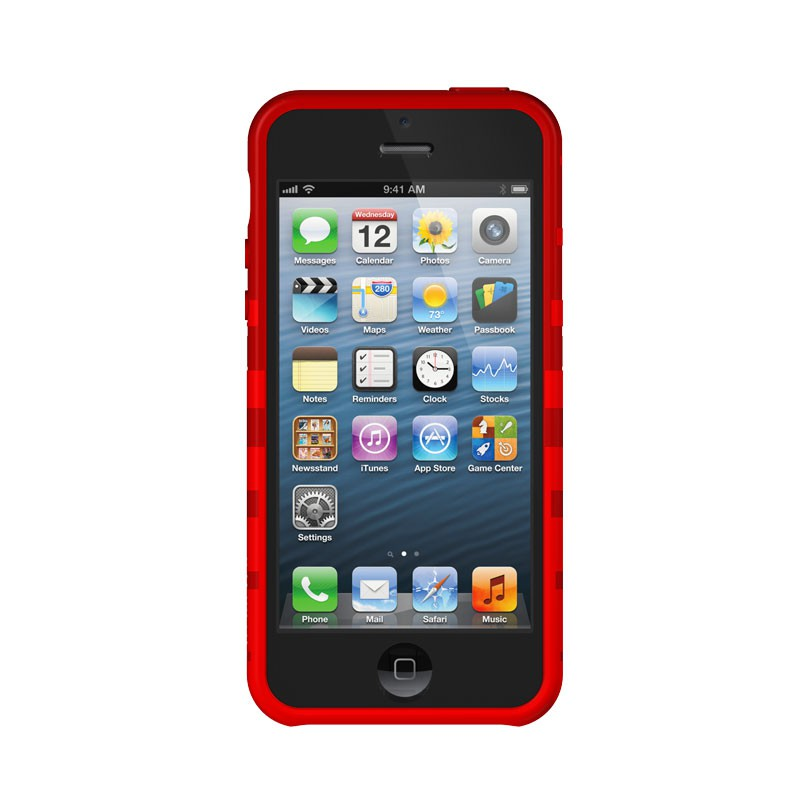 XtremeMac - Tuffwrap iPhone 5 (Red) 04